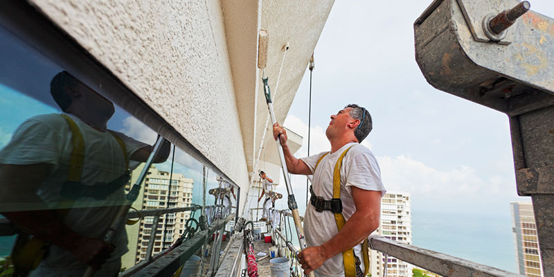 expertise for commercial painting